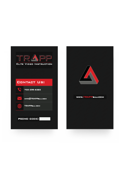 Branding agency business card samples