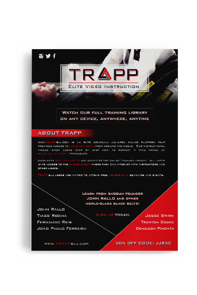 TRAPPbjj sell sheet samples
